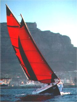 Cape Cutter 19 GRP trailer sailer